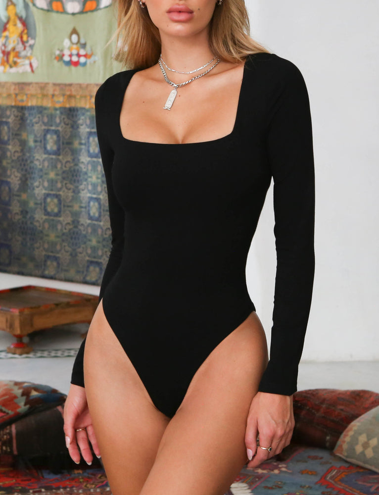 Alyssa Bodysuit - Black