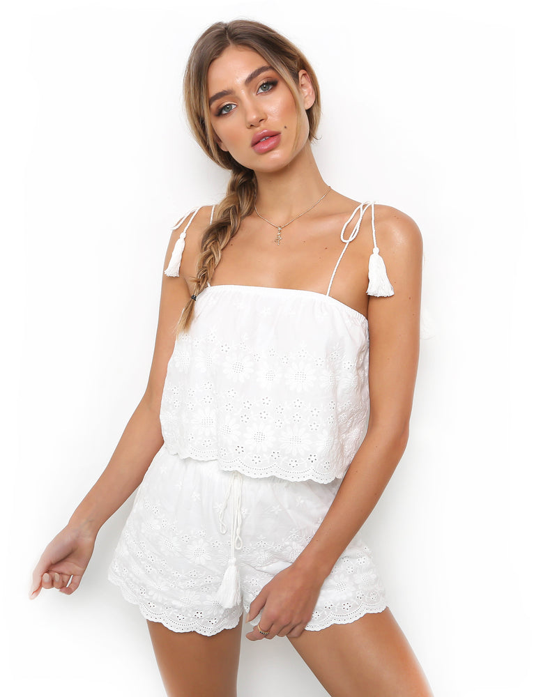 Gypsy Love Short - White