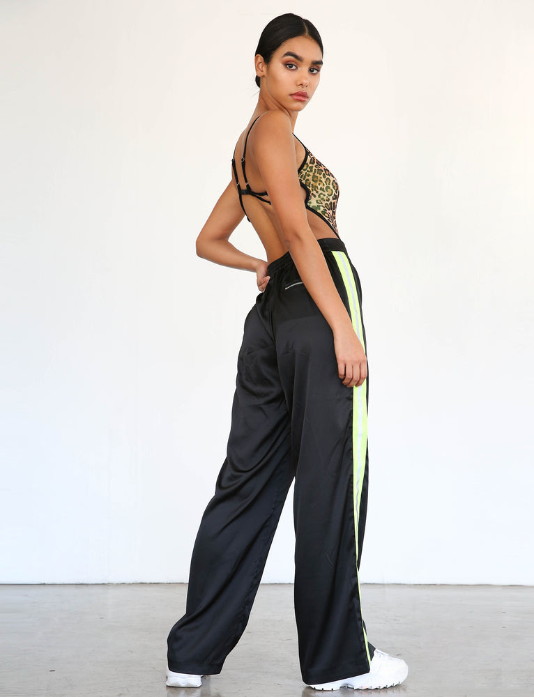 Maxwell Pant - Black With Neon