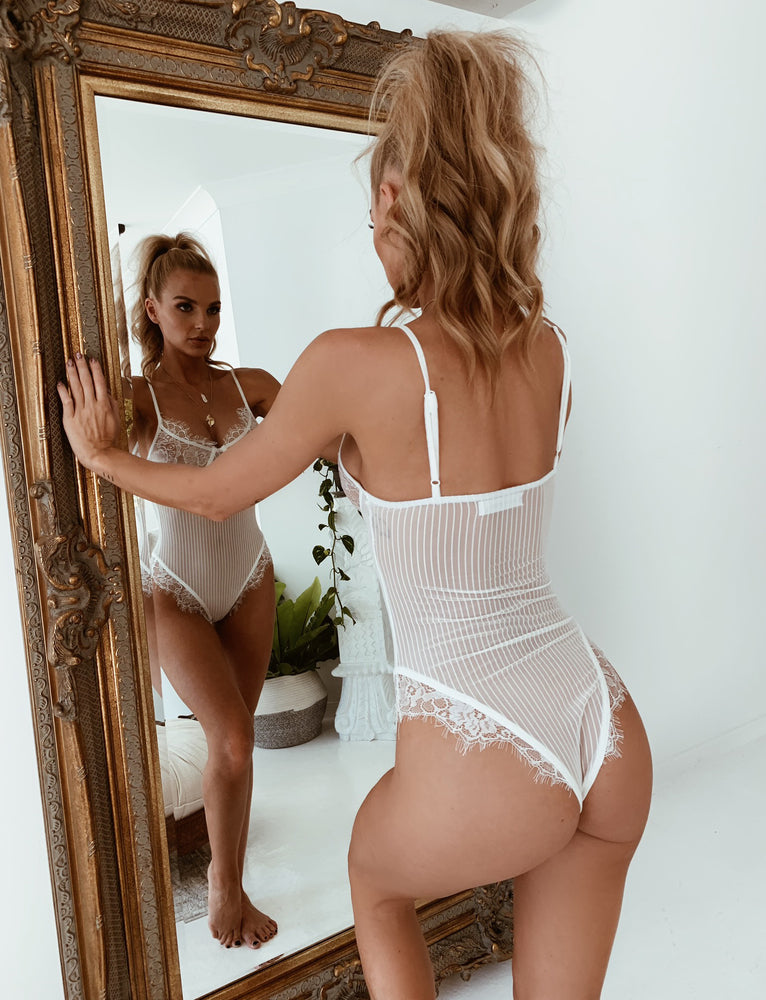 Pillowtalk Bodysuit - White
