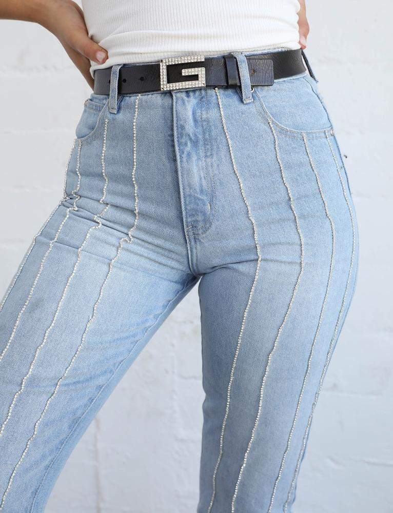 Vernon High Rise Jeans - Blue