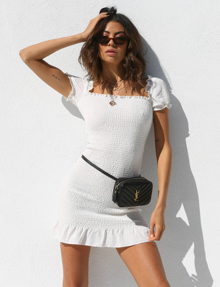 Jolene Dress - White