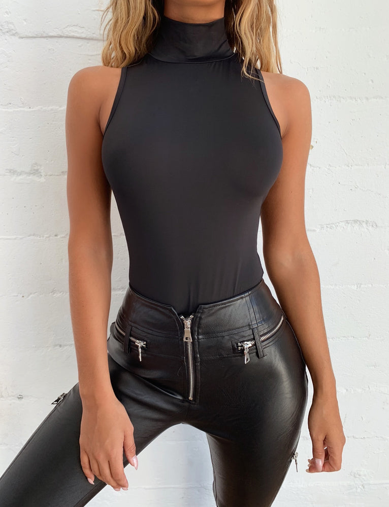 Graphite Bodysuit - Black