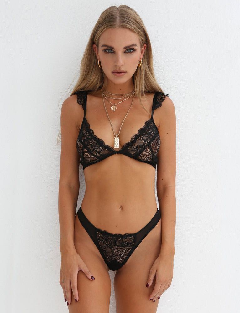 Frills Intimate - Black