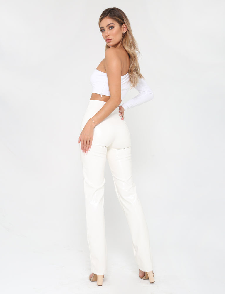 8bfc50f38467e0 Buy Our Pepper Pant in White Online Today! - Tiger Mist