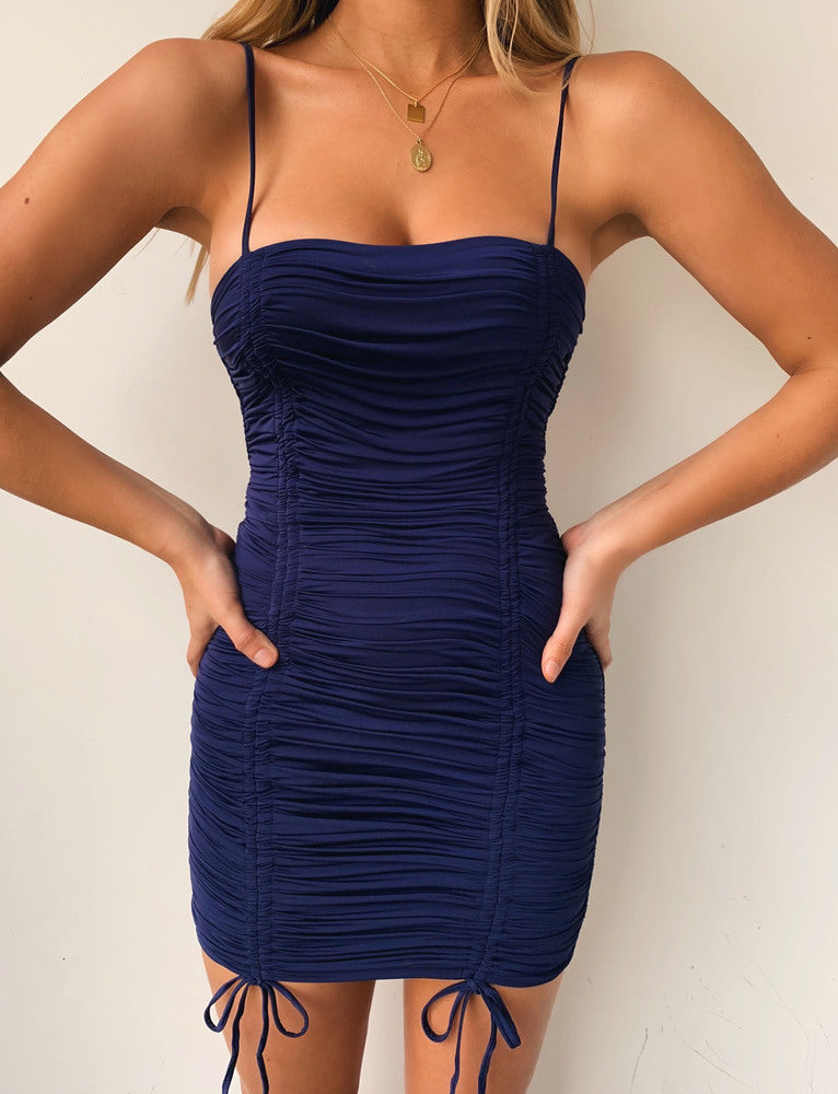 Zion Dress - Navy
