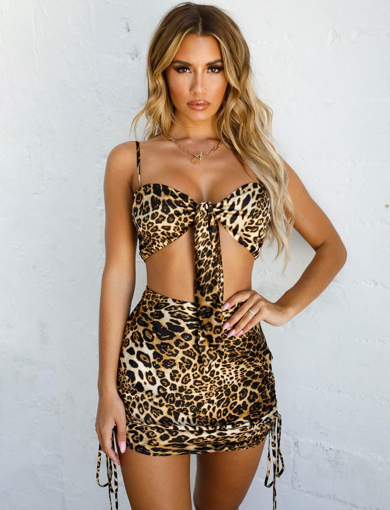 Millie Top - Leopard