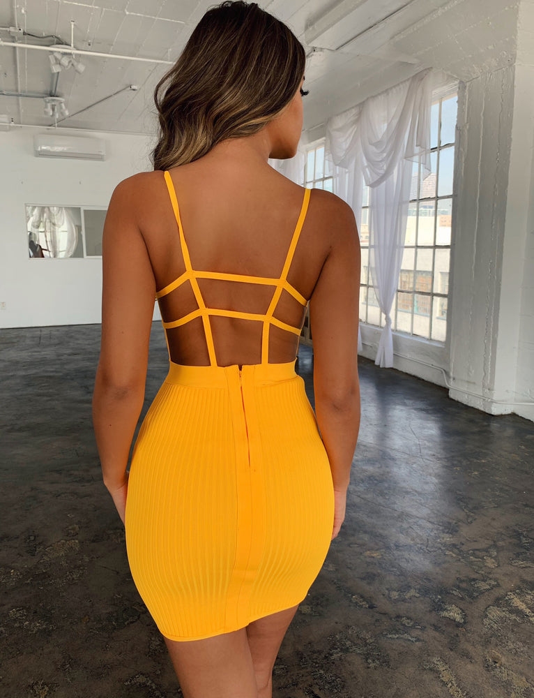 Lana Dress - Yellow