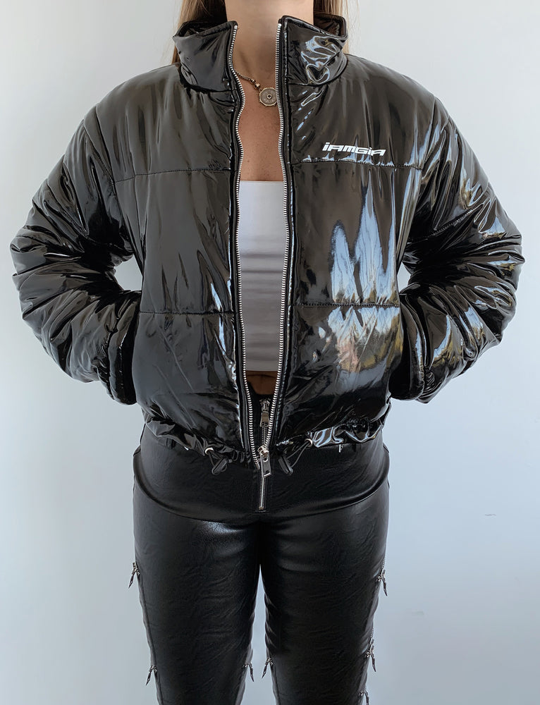 Road Warrior Jacket - Black Pu