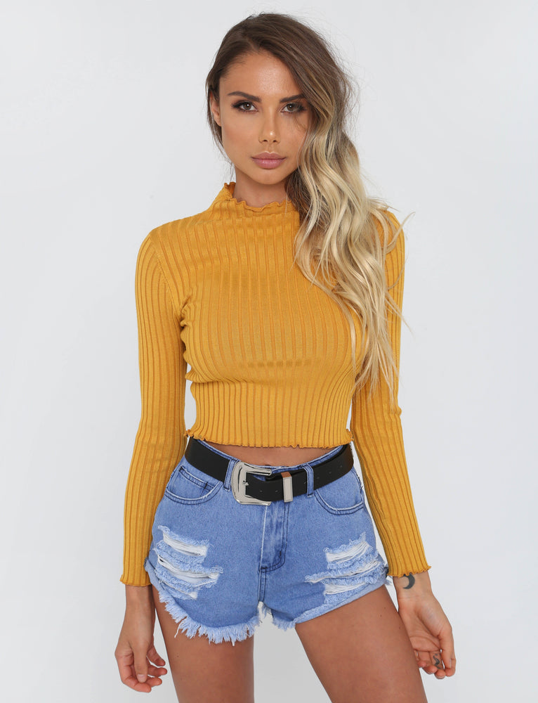 Illusion Jumper - Mustard