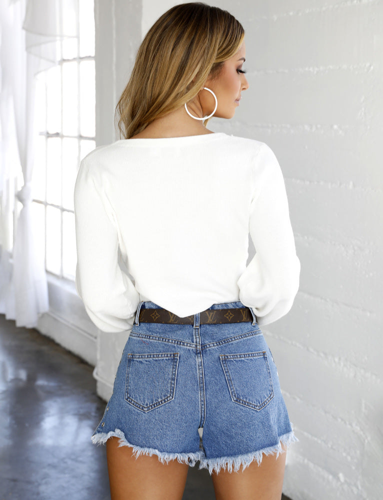 Elodie Jumper - White