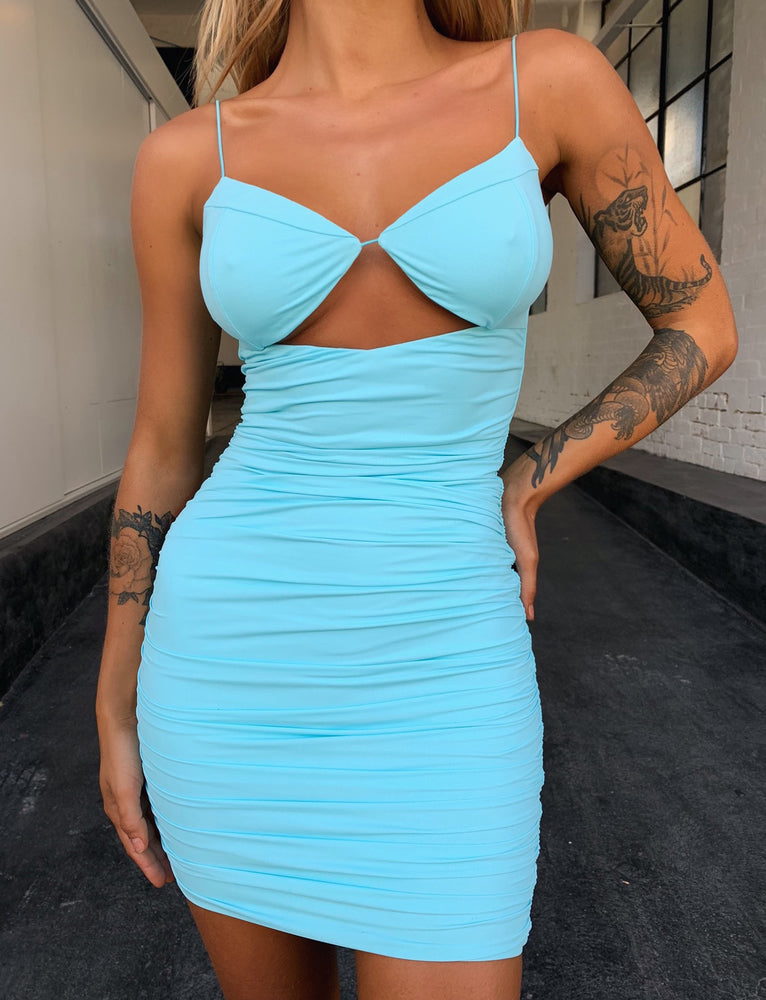 Tavi Dress - Blue