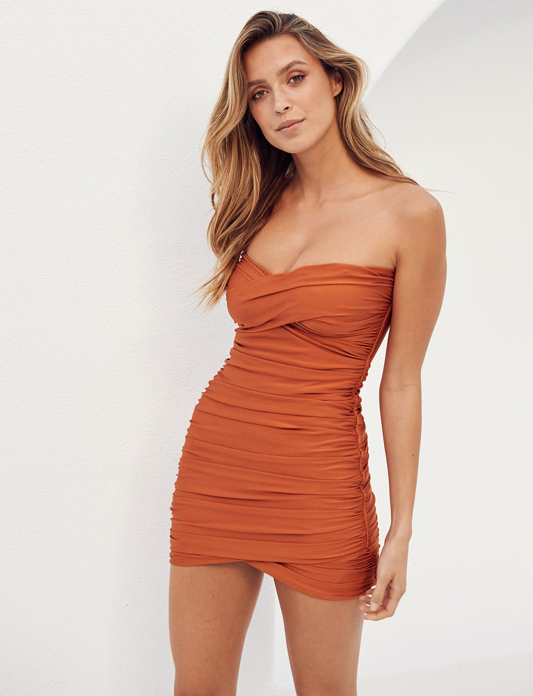Matteo Dress - Orange