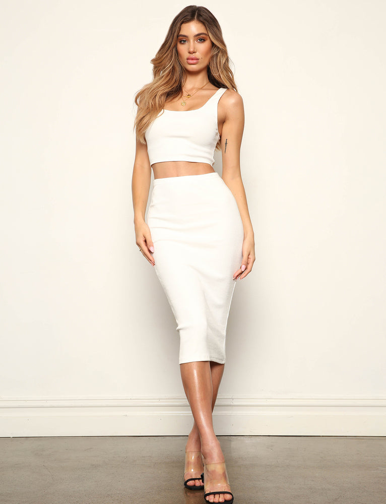 Kyky Skirt - White
