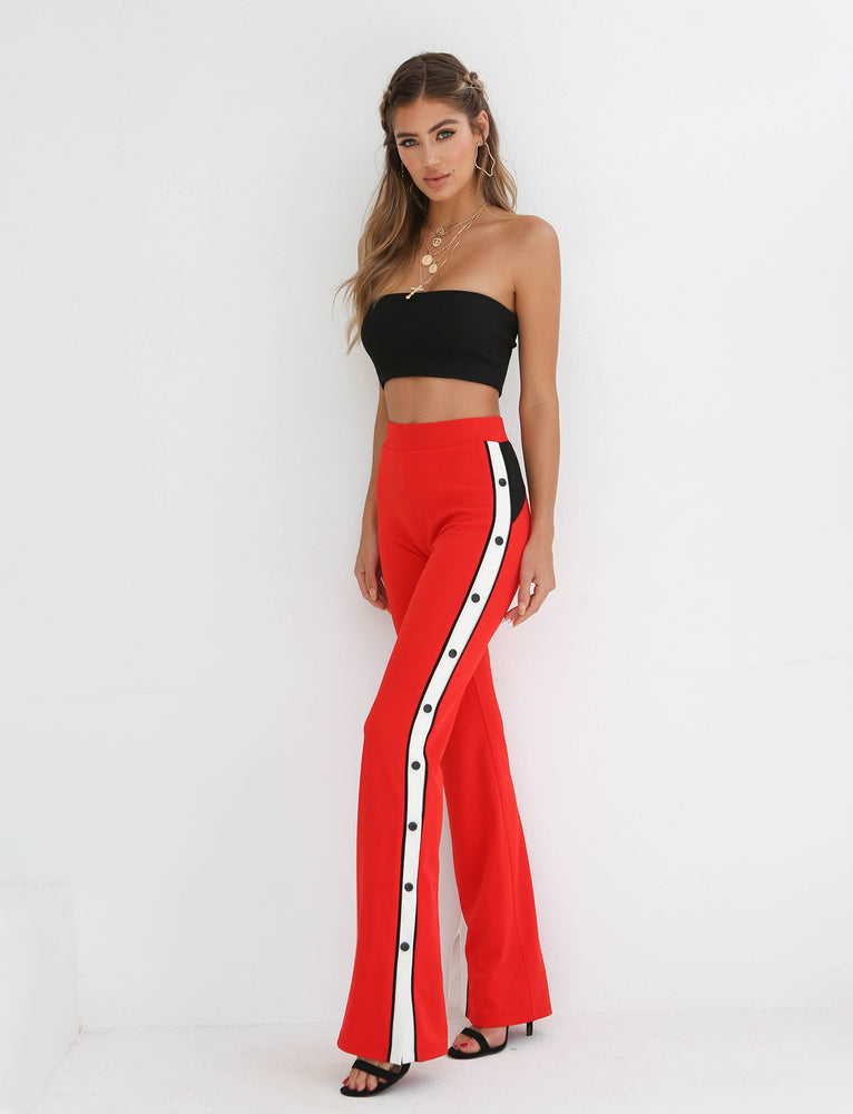 Louis Pant - Red/Black/White