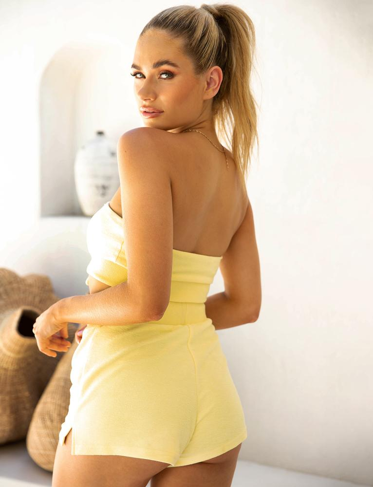 Estee Short - Yellow