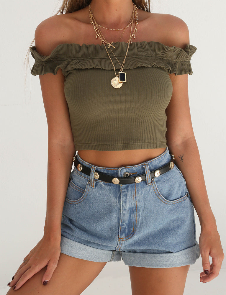 Chicago Crop - Khaki