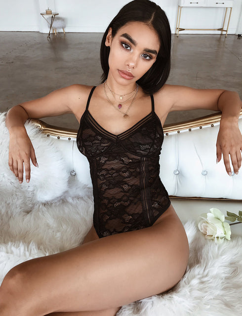Elena Bodysuit - Black