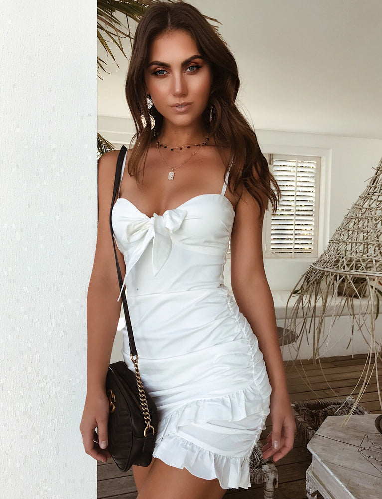 Millie Dress - White