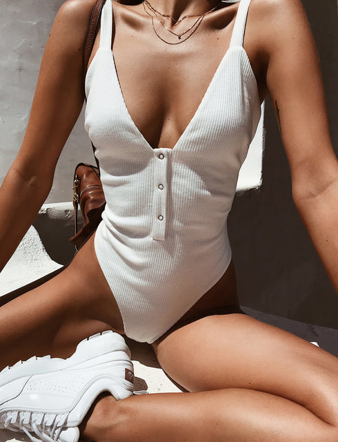 Suri Bodysuit - White