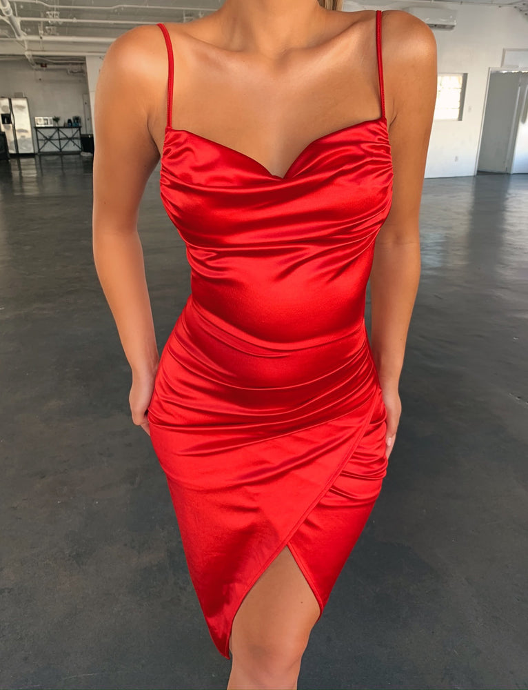 Carlo Dress - Red