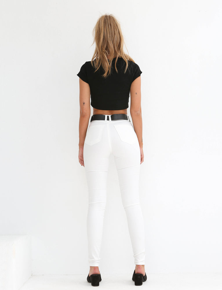 Rolla Jeans - WHITE