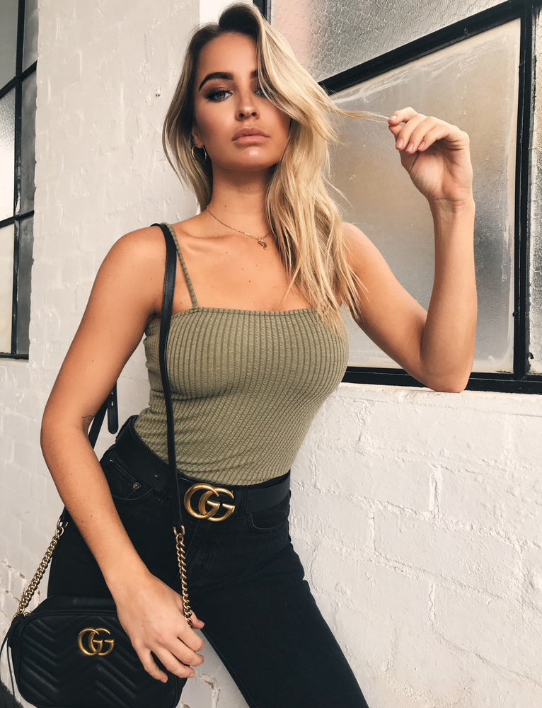 Tori Bodysuit - Green