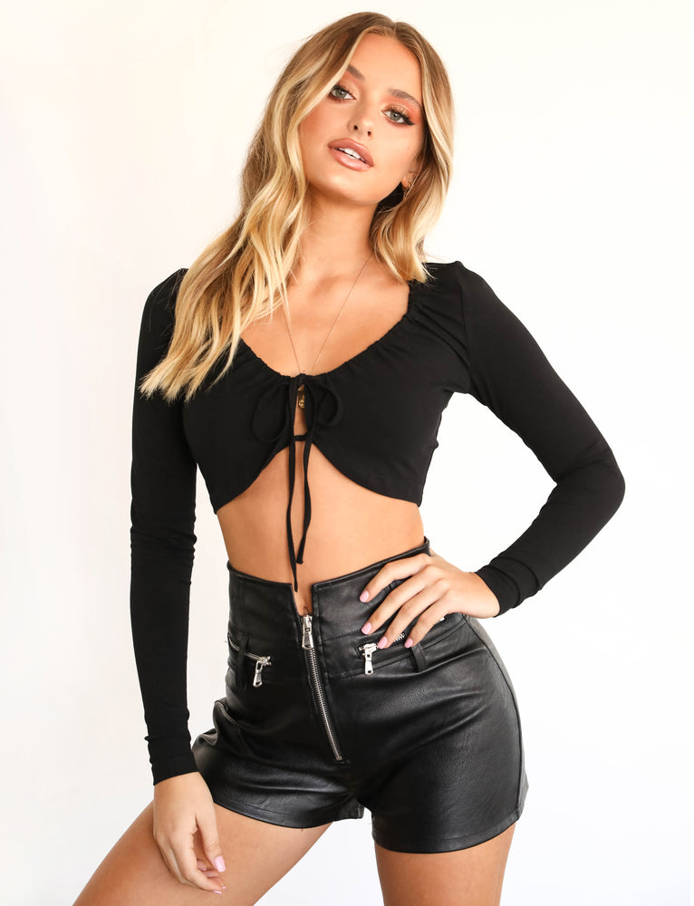 Basil Top - Black