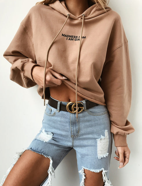 Madness Sweater - Tan