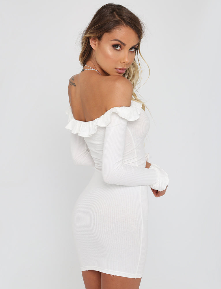 Little Dancer Dress - White