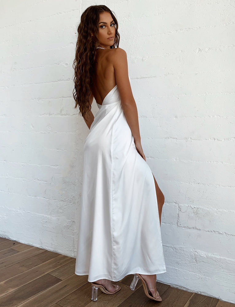 Altair Maxi Dress - White