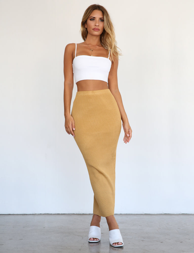 Sage Skirt - Yellow
