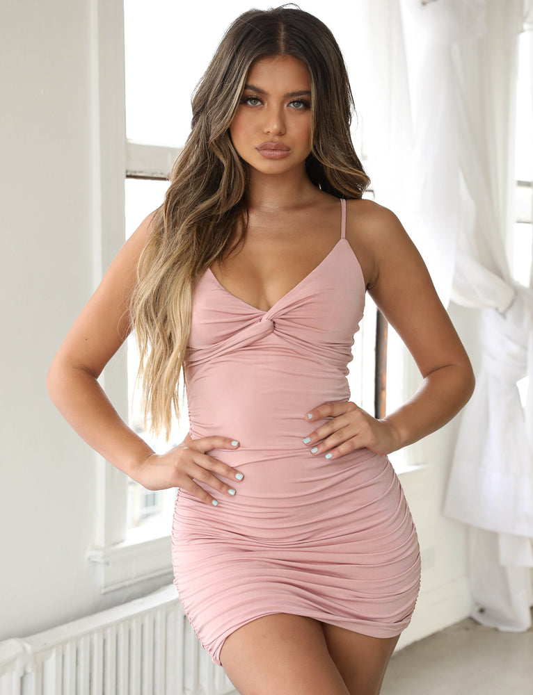 Gabby Dress - Blush