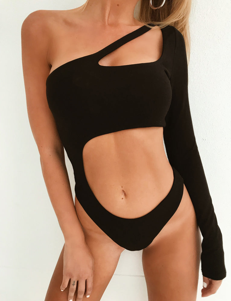 Jupiter Bodysuit - Black