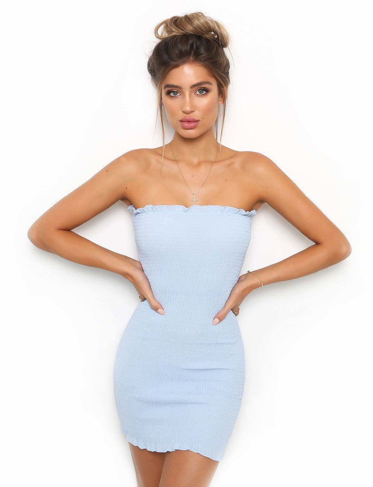 Taylah Dress - Blue