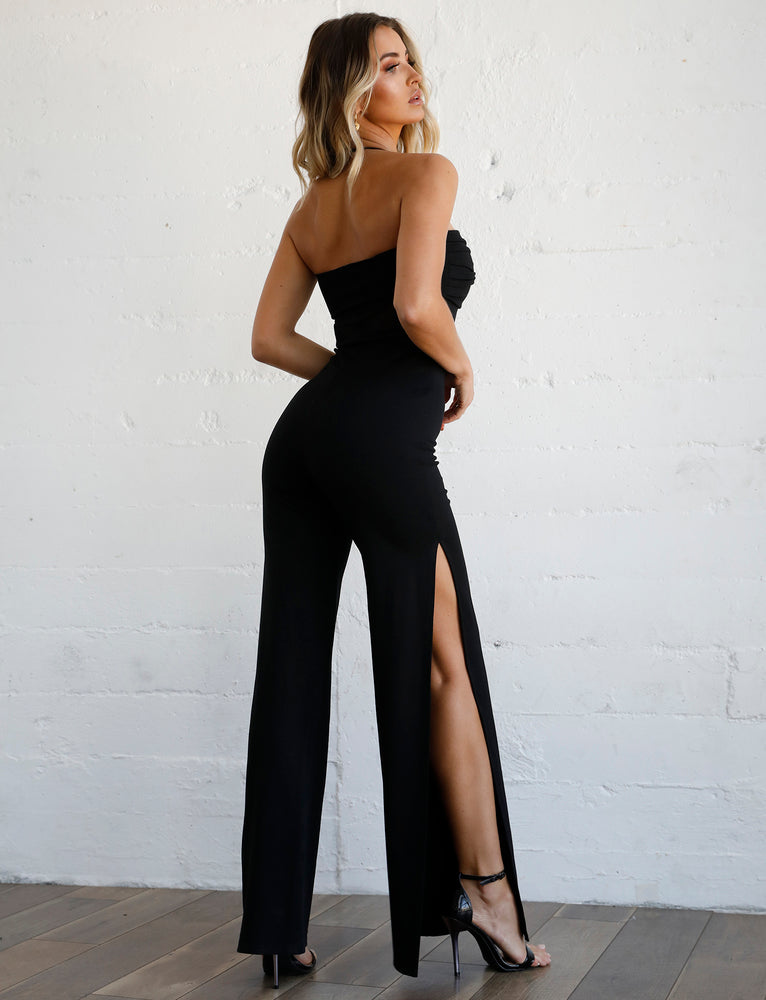 Olympia Jumpsuit - Black