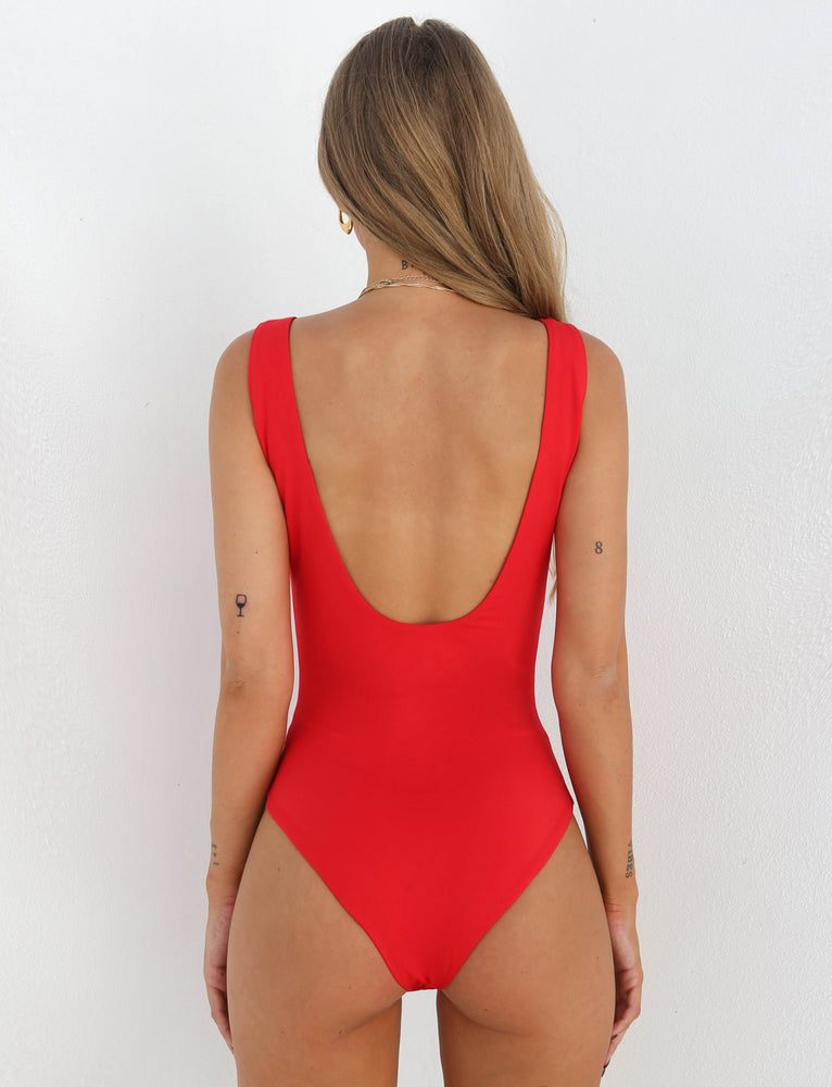 Tabitha Bodysuit - Red
