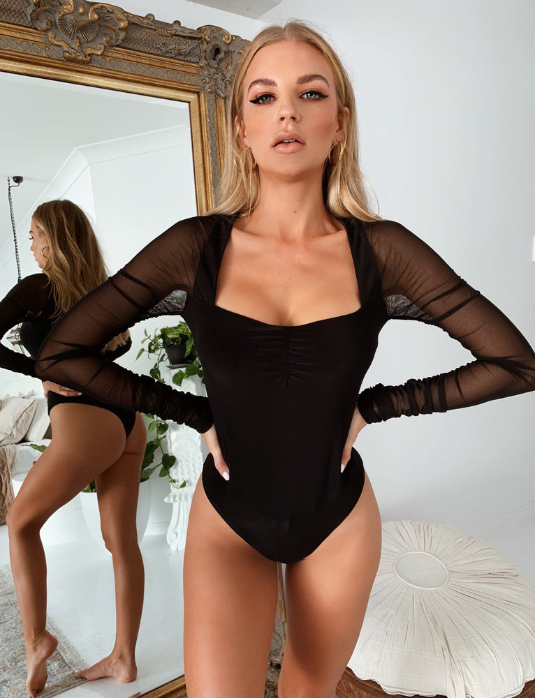 Zira Bodysuit - Black