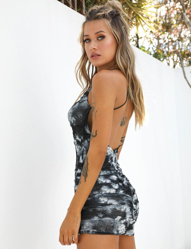 Reese Dress - Tie Dye