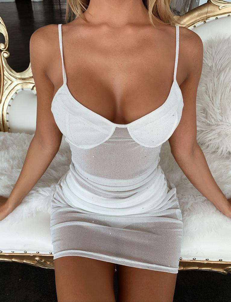Loveday Dress - White
