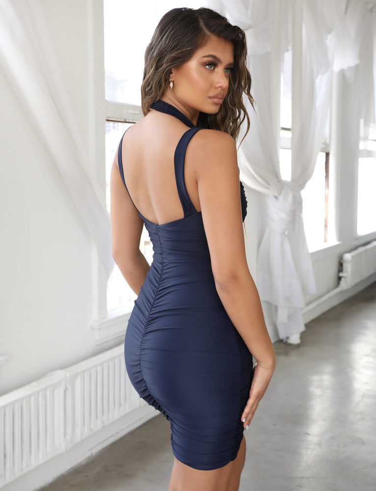 Tilly Dress - Navy