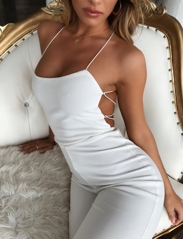 Blanche Jumpsuit - White