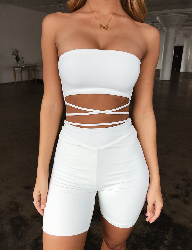 Lura Bodysuit - White