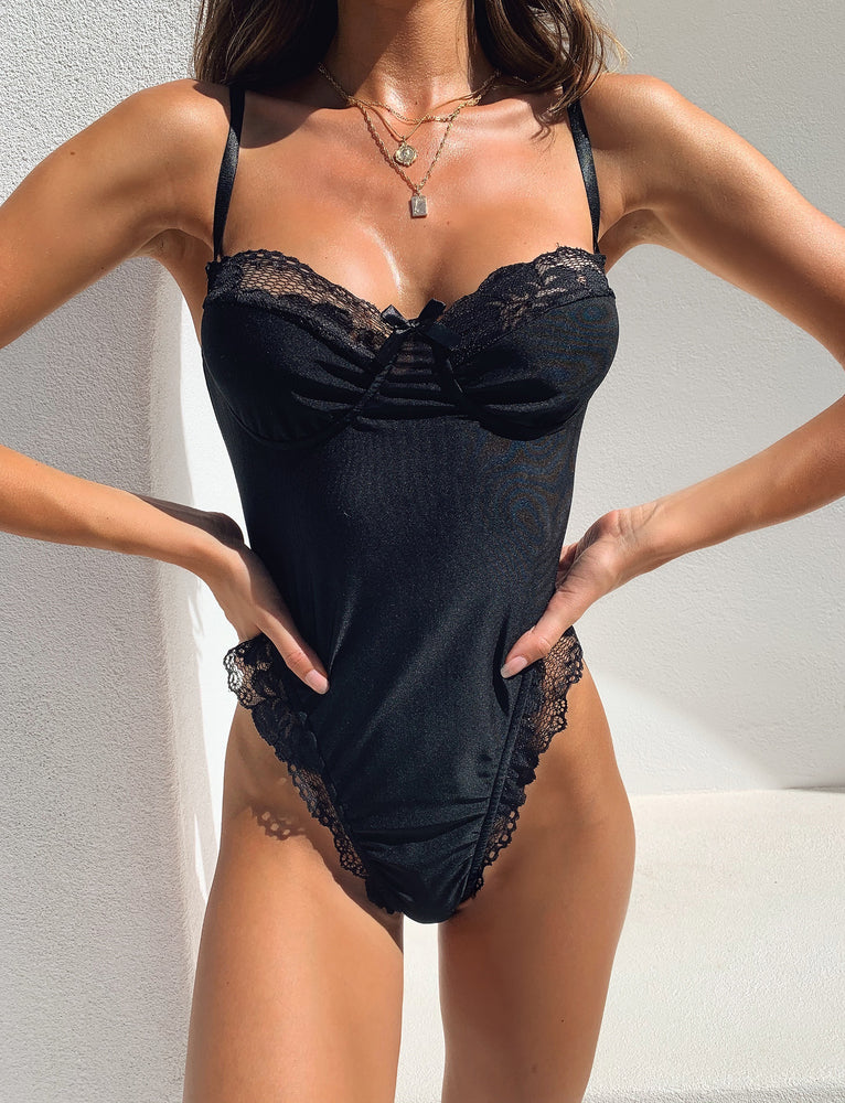 Carter Bodysuit - Black