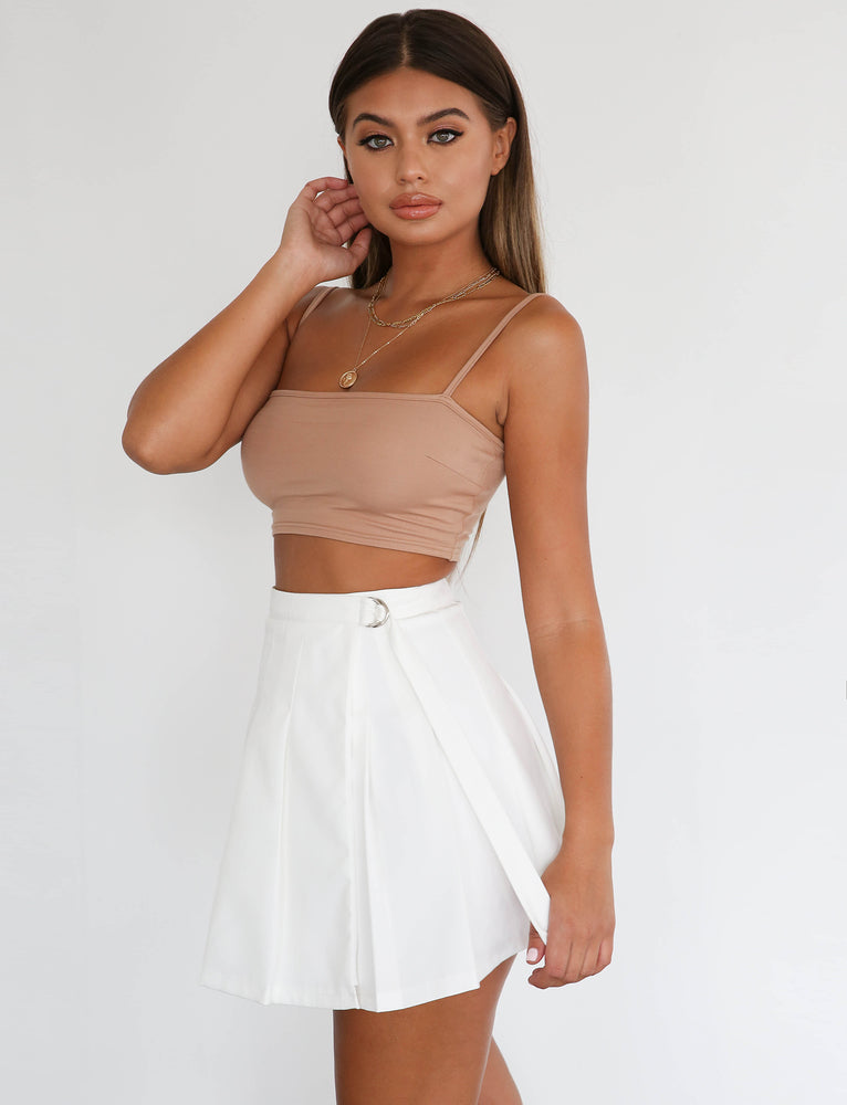 Adele Skirt - White