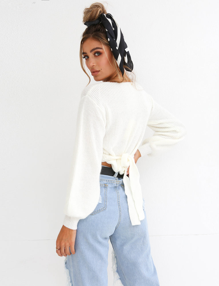 Polly Jumper - White