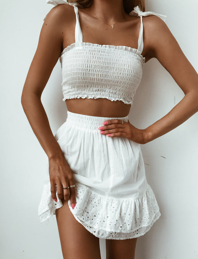 Ariel Two Piece - White