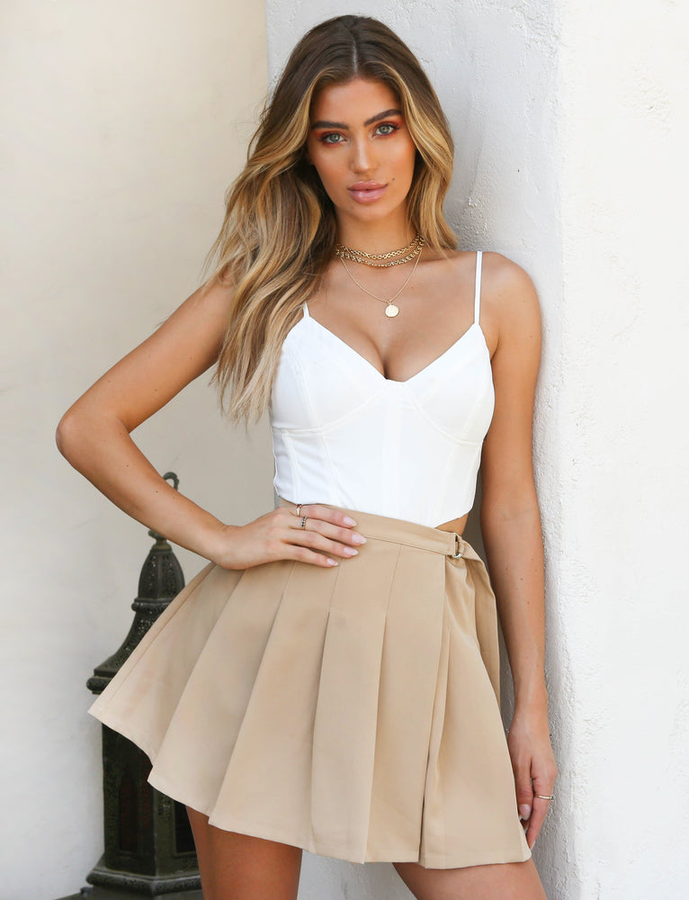Adele Skirt - Cream