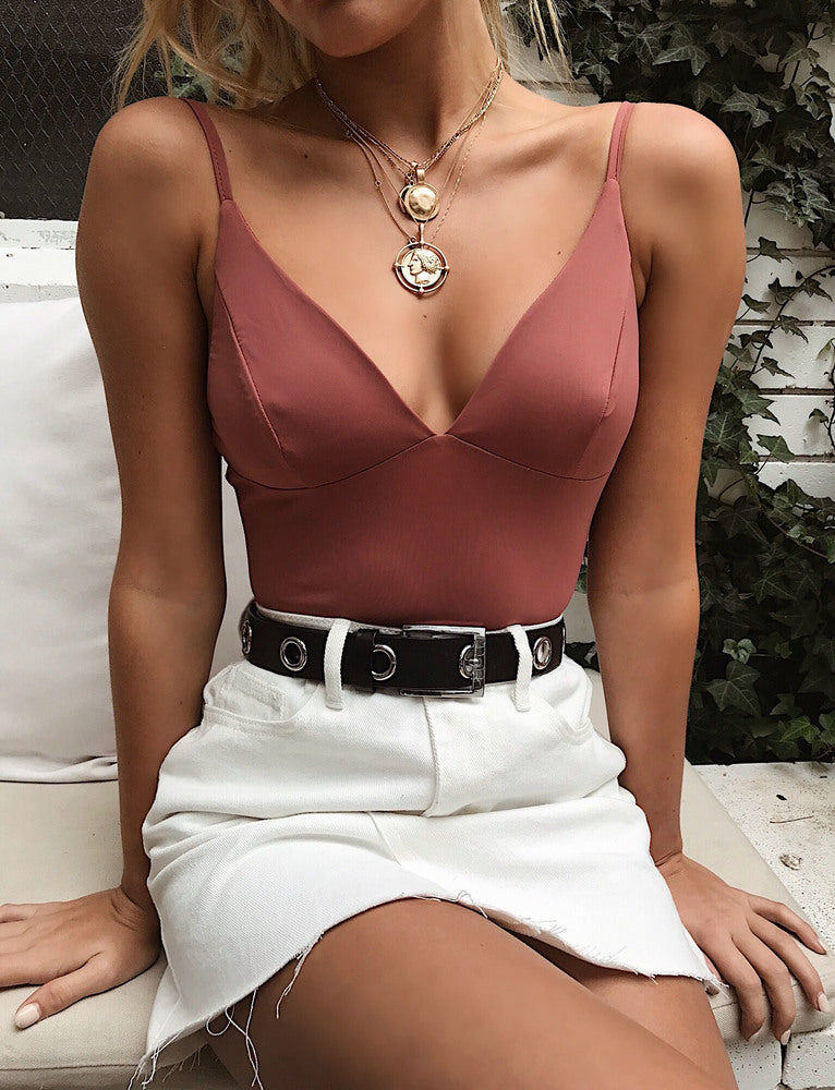 Mexicola Bodysuit - Rose