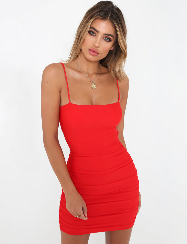 Sunrise Dress - Red